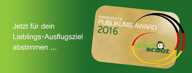 Parkscout Publikums Award 2016