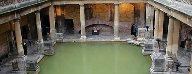 Römische Badeanstalt im englischen Bath. © Tonywieczorek